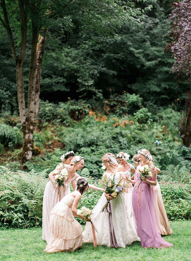 Enchanting Forest Wedding in Portland, Oregon - Inspired ...