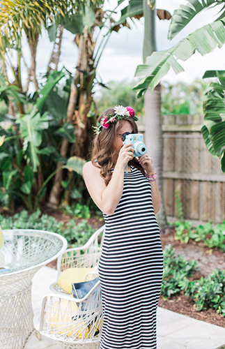 Vintage Backyard Baby Shower - Inspired by This
