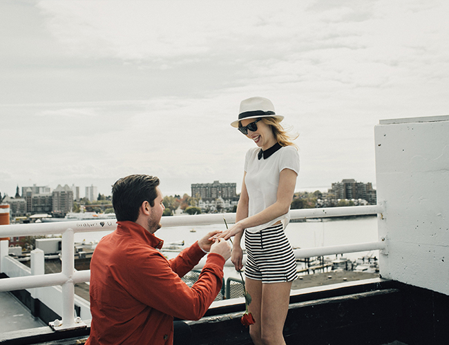 Taylor Swift Inspired Proposal Photoshoot - Inspired by This