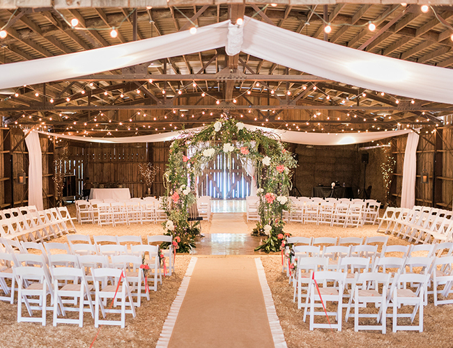 Rustic Pink Barn Wedding - Inspired by This