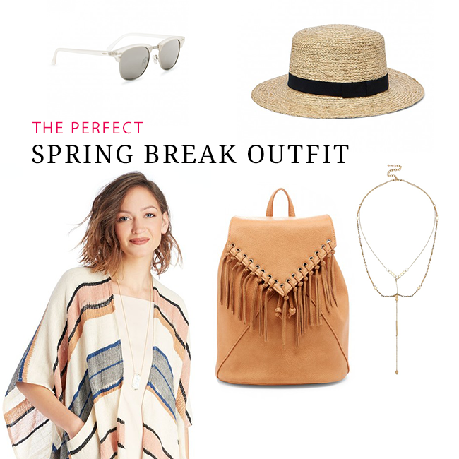 The Perfect Spring Break Outfit - Inspired by This