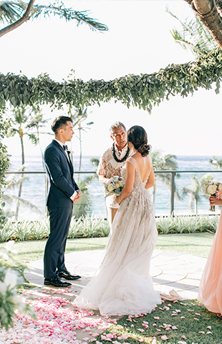 Pastel Four Seasons Maui Wedding - Inspired by This