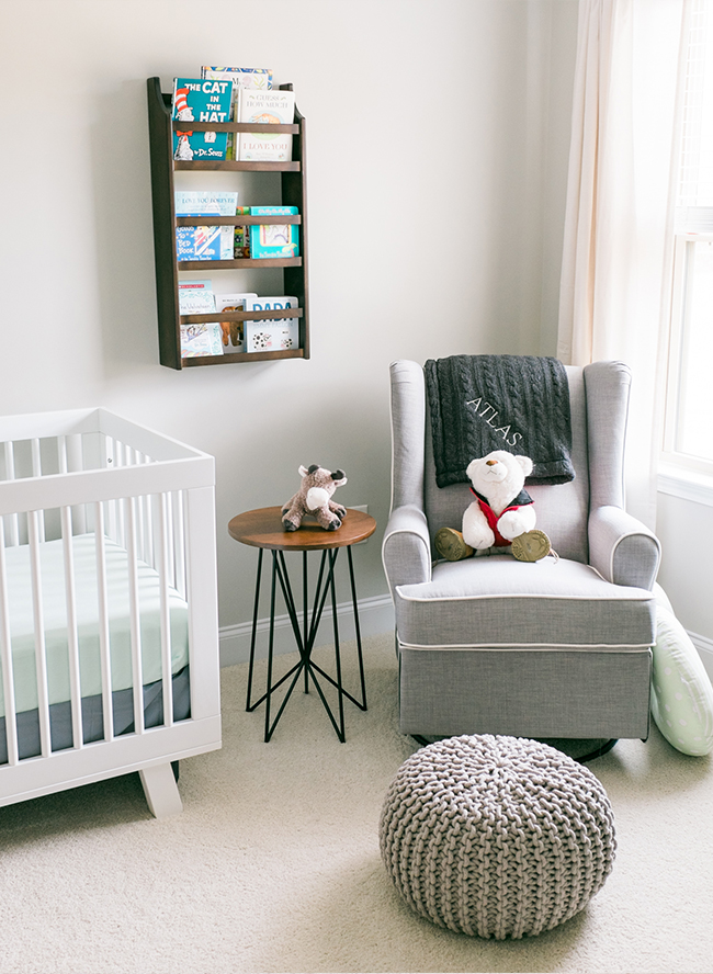 Blue & Grey Travel Inspired Nursery - Inspired by This