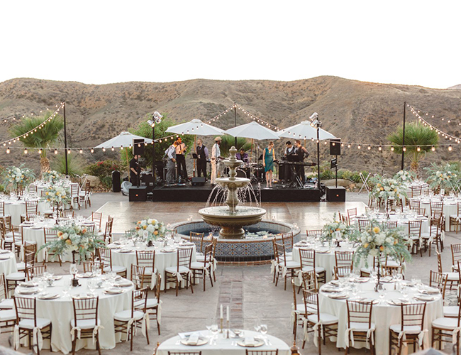 Navy & Orange Hummingbird Nest Ranch Wedding - Inspired by This