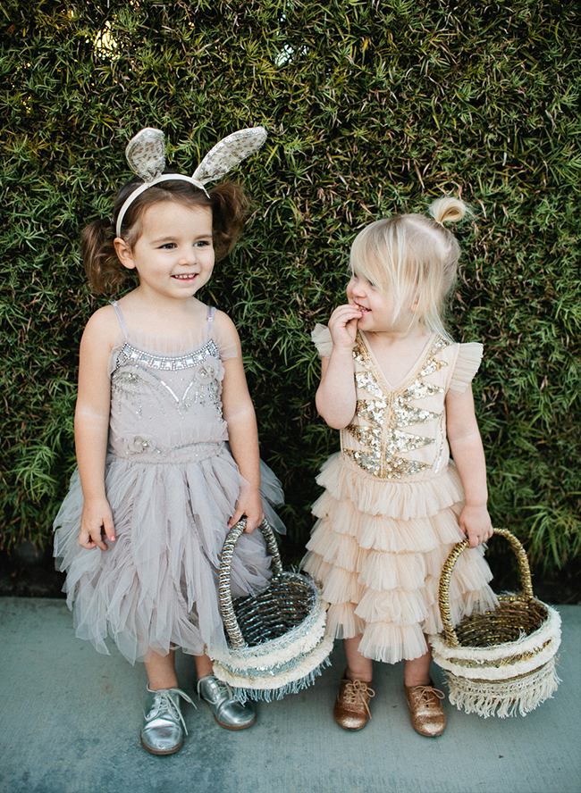 DIY Easter Baskets & Bunny Ears - Inspired by This