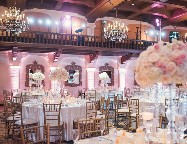 21 Elegant Ideas For A Ballroom Wedding Inspired By This
