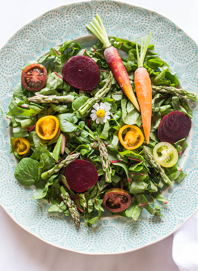 Vibrant Carrot & Beet Spring Salad - Inspired by This