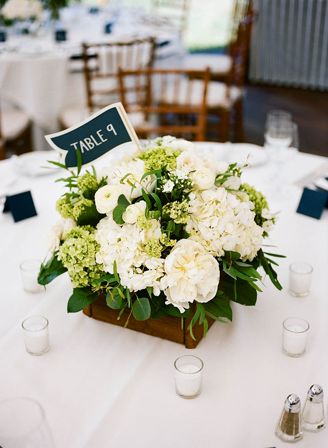 flower centerpieces for wedding navy and white nautical wedding inspired by this 4150