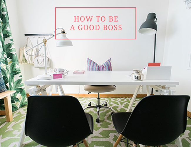 How to be a Good Boss - Inspired by This