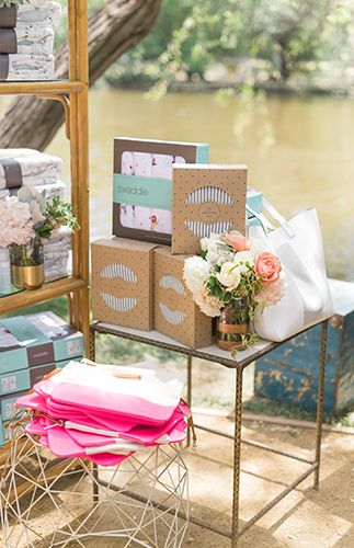 Ali Fedotowsky's Blush Baby Shower - Inspired by This