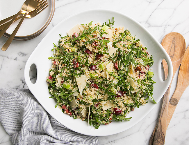 Cherry Quinoa Salad Recipe - Inspired by This