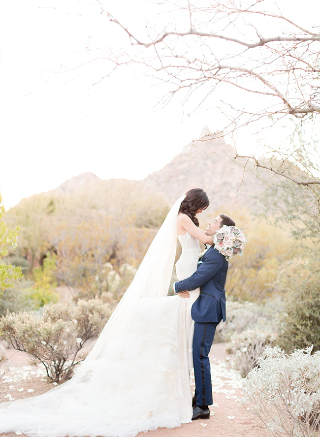 Pink Desert Wedding in Scottsdale - Inspired by This
