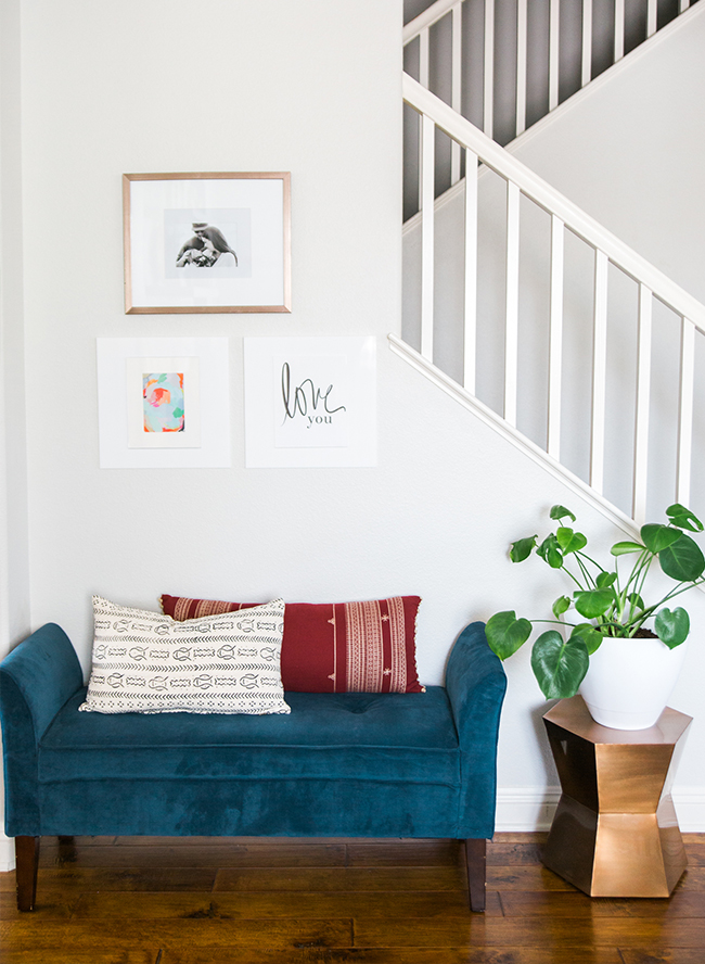 A Colorful & Eclectic Mid Century Home Tour - Inspired by This
