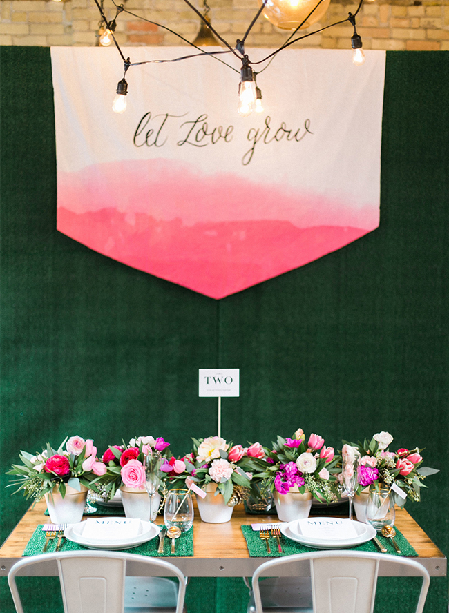 """Let Love Grow"" Garden Bridal Shower - Inspired by This"