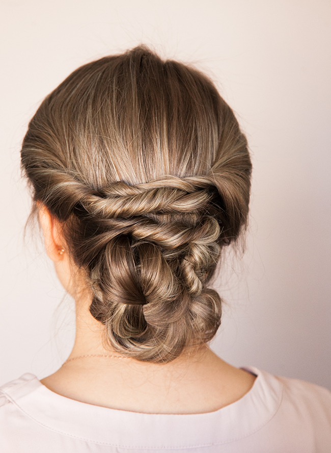 Braided Updo Tutorial - Inspired by This
