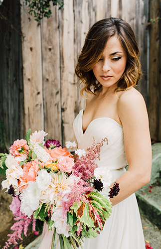 Bright & Playful Mid-Century Wedding Inspiration - Inspired by This