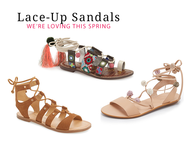 6 Lace Up Sandals We're Loving This Spring - Inspired by THis