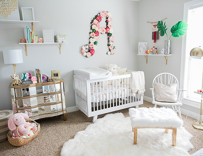 Plush Pink & White Nursery - Inspired by This