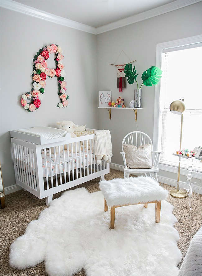 baby room ideas plush pink and white nursery inspired by this 31063