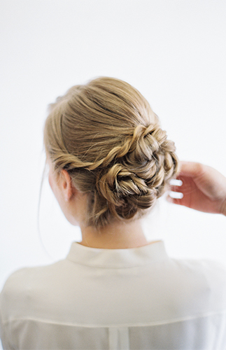 Twisted Updo Hair Tutorial - Inspired by This