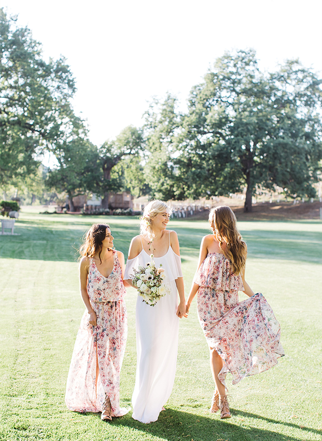 Green Wedding Shoes & Show Me Your Mumu Bridesmaid Collection - Inspired by This