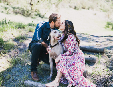 Romantic Bohemian Anniversary Photos - Inspired by This