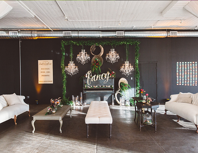 Tassels & Tastemakers: Industrial Glam Loft Party - Inspired by This