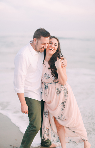 Beach Engagement Photos - Inspired by This