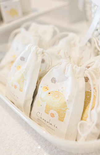 Grey & Yellow Elephant Baby Shower - Inspired by This