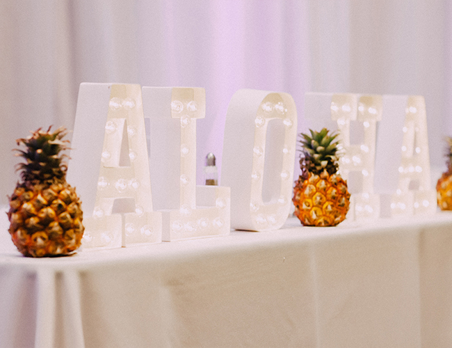 Tropical Beach Wedding - Inspired by This