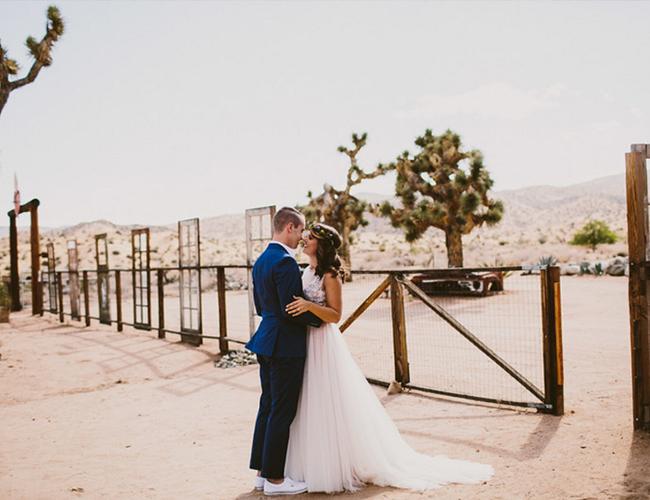 Southwestern Joshua Tree Wedding Inspired By This