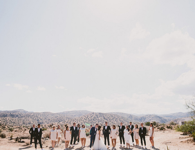Southwestern Joshua Tree Wedding - Inspired by This