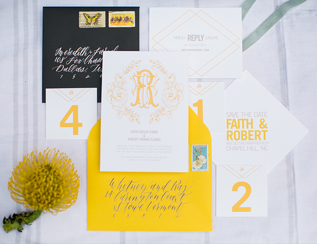 Sunny Yellow Wedding Brunch - Inspired by This