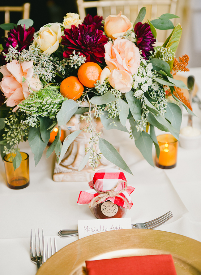 Citrus Wedding Inspiration - Inspired by This