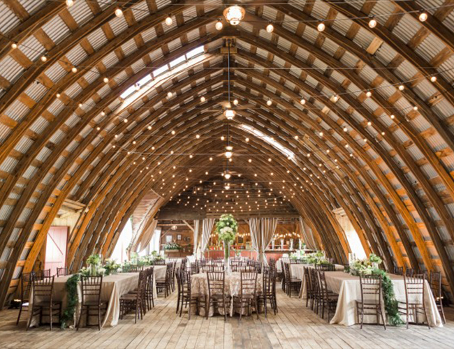 5 Wedding Venues We Never Get Sick Of