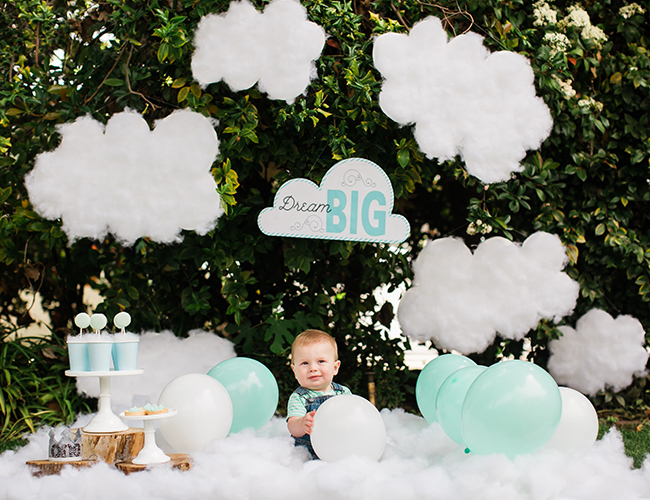 Dream Themed First Birthday Party - Inspired by This