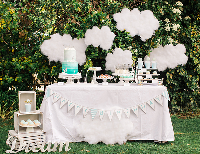 Dream Inspired First Birthday Party Inspired By This