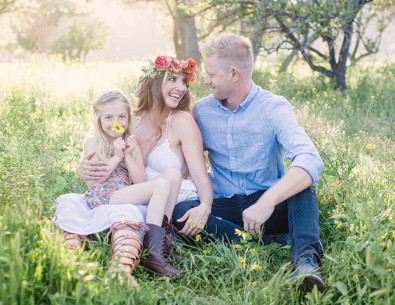 Boho Family Maternity Photos - Inspired by This