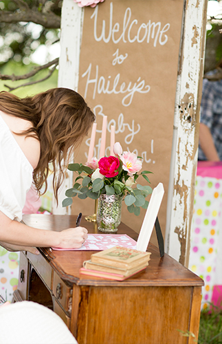 Rustic Pink Farm Baby Shower - Inspired by This