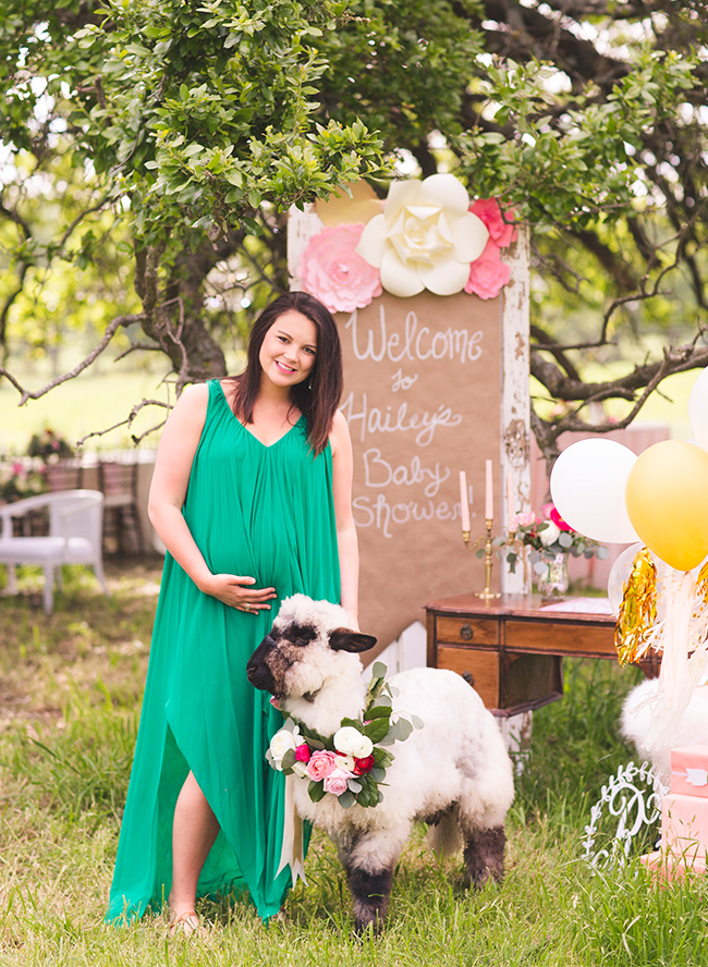 ... Rustic Pink Farm Baby Shower   Inspired By This ...