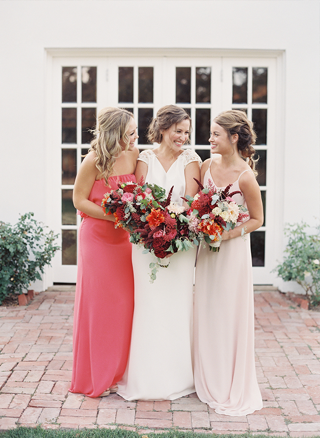 Red & Pink Golden Summer Wedding Inspiration - Inspired by This