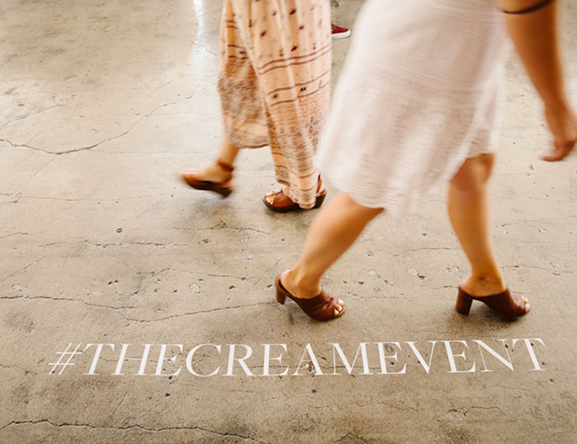 The Cream Event at Cooper Design Space - Inspired by This