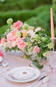 Whimsical Pink Garden Wedding - Inspired by This