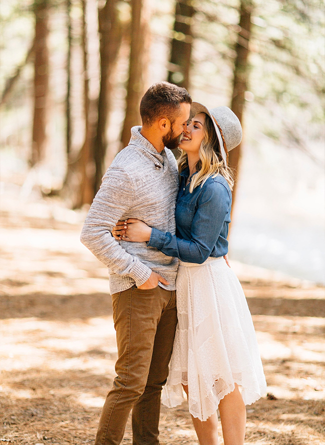 Yosemite National Park Engagement Photos - Inspired by This