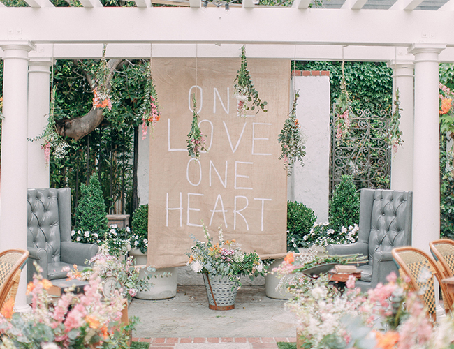Intimate Restauraunt Wedding in Corona Del Mar - Inspired by This