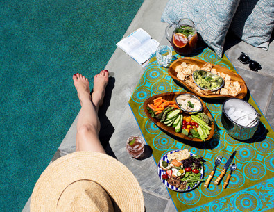 The Perfect Pieces for Poolside Entertaining - Inspired by This