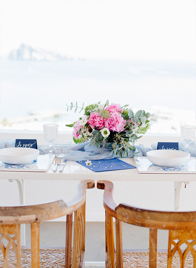 Santorini Destination Wedding Inspiration - Inspired by This