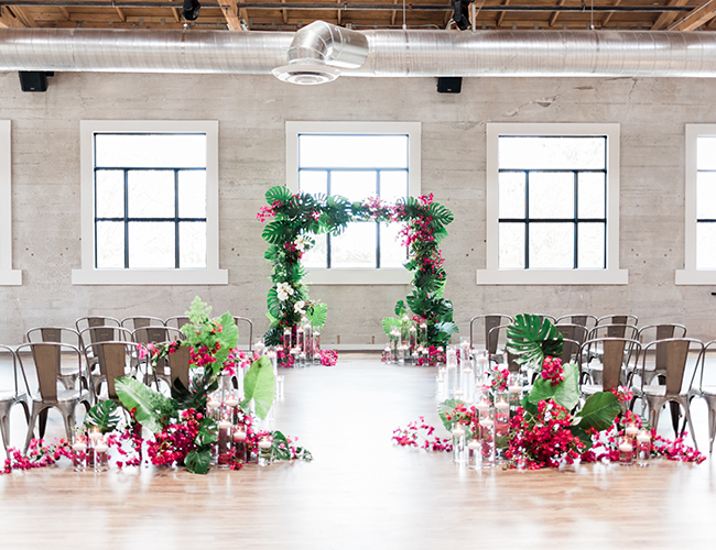 Modern Fuchsia Wedding Inspiration - Inspired by This