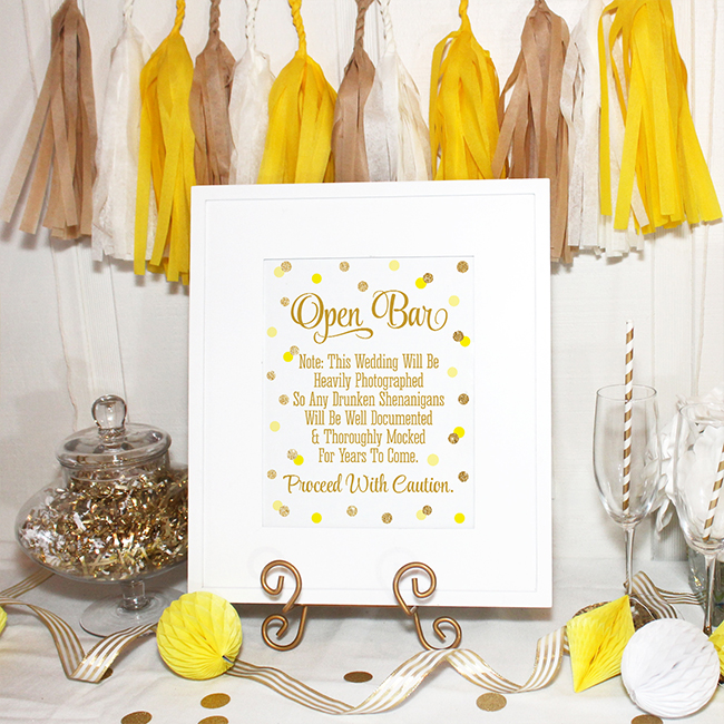 5 Steps to a Summery Yellow Wedding - Inspired by This