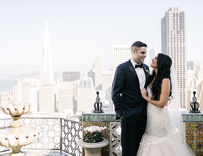 City Chic San Francisco Wedding - Inspired by This